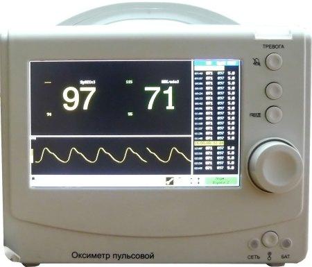 Стационарные пульсоксиметры, помимо сатурации и частоты сердцебиения, могут отображать в графическом виде диаграмму пульса