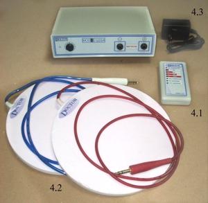 Dianel RPTModul für quasistatische Behandlung von pulsierendenFeldes durch Kontaktbelichtung durch eine speziellePolarisationsplatte gestalten. Dianel-RPT Modul an eineranalogen Einrichtung und Franklinization aeroionizationaufgewertet. Verfügt über eine leistungsfähige heilendeWirkung eine umfassende, berührungslose Arbeit.Non-invasive und sichere
